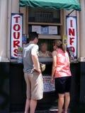 旅行旅游信息中心和Touist 库存照片