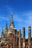 旅行旅行在晴天和蓝天在泰国 库存照片
