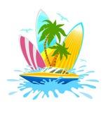 旅行热带活跃休息和体育 库存照片