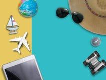 旅行环球为您五颜六色的生活 享用滑稽 图库摄影