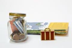 旅行的储款 免版税库存图片