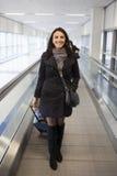 旅行的妇女 免版税库存照片