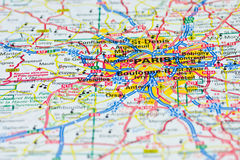 旅行的巴黎 库存照片