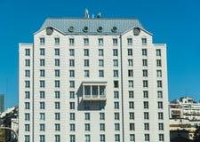 旅行的布宜诺斯艾利斯希拉顿豪华旅馆 著名阳台 库存照片