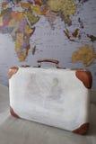 旅行的手提箱 库存图片