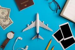 旅行的概念的准备 免版税库存照片