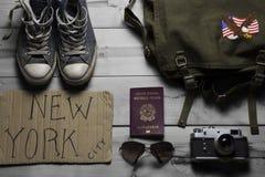 旅行的精华 库存例证