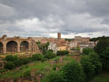旅行的罗马意大利古老美丽的市 库存图片