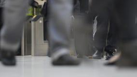 旅行的通勤者,迷离 股票视频