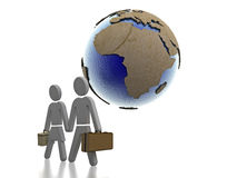 旅行的非洲 向量例证