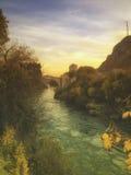 旅行目的地在波斯尼亚 库存照片