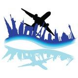 旅行穿过世界各种各样的城市 免版税库存图片