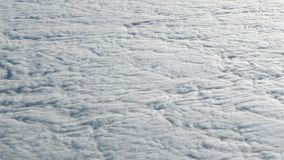 旅行航空的4K 上面天空和云彩美妙的看法  平面飞行 影视素材