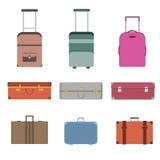 旅行袋子集合 库存图片