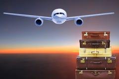 旅行袋子 图库摄影