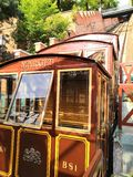 旅行运输布达佩斯市世界火车电梯  库存照片