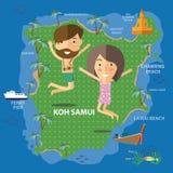 旅行酸值苏梅岛泰国 库存照片