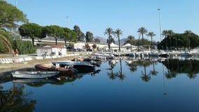 旅行,奥尔比亚,撒丁岛 免版税库存图片