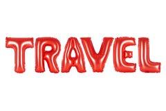 旅行,红颜色 图库摄影