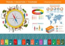 旅行 假期 海滩胜地infographics creat的元素 图库摄影