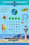 旅行infographics元素 免版税库存照片