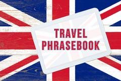 旅行phrasebook 免版税图库摄影