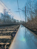 旅途乘火车 库存照片