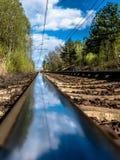 旅途乘火车 图库摄影