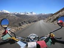 旅途向西藏 免版税库存照片