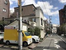旅途在日本 免版税库存图片