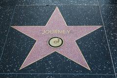 旅途的好莱坞明星 库存图片