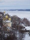 旅途通过俄罗斯 在伏尔加河的Plyos 库存照片