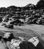 旅途通过岩石 免版税库存图片