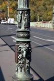 旅途通过美丽的布拉格,捷克,秋天,10月 库存图片
