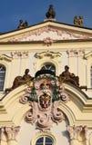 旅途通过美丽的布拉格,捷克,秋天,10月 免版税库存照片