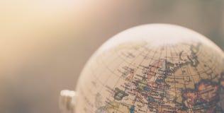 旅途:关闭地球 免版税库存图片