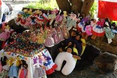 旅途 礼物和纪念品从多米尼加共和国 免版税库存照片