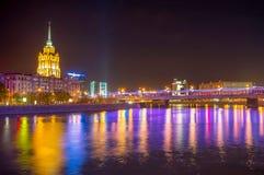 旅馆乌克兰纳塔在莫斯科 图库摄影