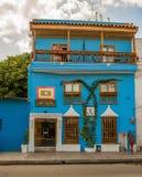旅馆住处伊莎贝尔在卡塔赫钠,哥伦比亚 免版税库存图片