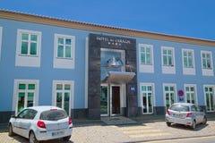 旅馆做Caracol, Angra, Terceira,亚速尔群岛 免版税库存照片