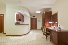 旅馆公寓的内部 库存图片