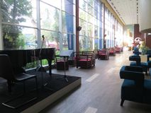 旅馆内部在雅加达 免版税图库摄影