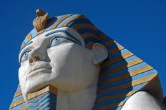 旅馆卢克索狮身人面象雕象 免版税库存照片