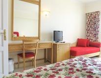 旅馆卧室 库存照片