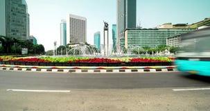 旅馆印度尼西亚环形交通枢纽时间间隔  影视素材