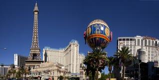 巴黎旅馆和赌博娱乐场-拉斯维加斯,内华达 库存照片