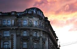 旅馆国民在莫斯科,俄罗斯 库存图片