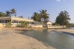 旅馆在冈比亚 免版税库存照片