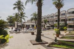 旅馆在冈比亚 免版税库存图片