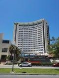 旅馆在坎昆 免版税库存照片